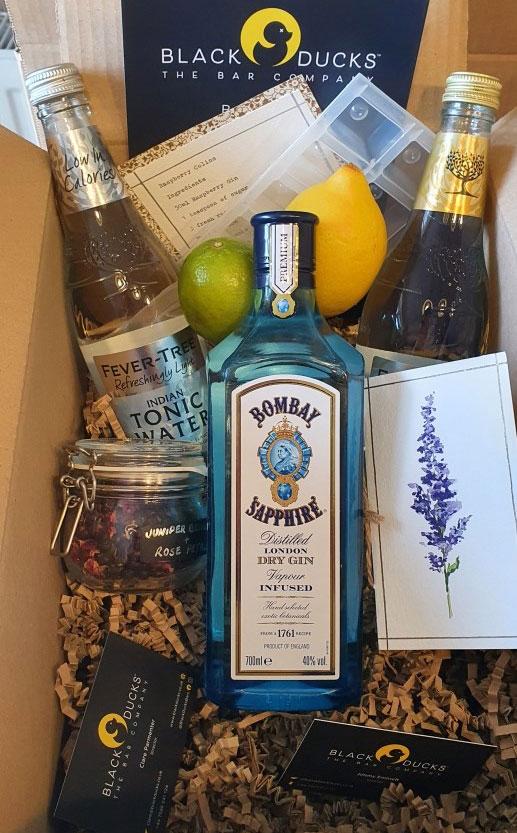 Bombay Sapphire Gift Box