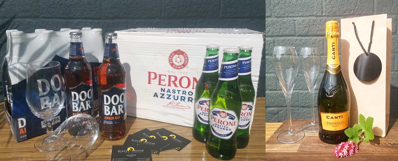 Beer & Prosecco Delivery